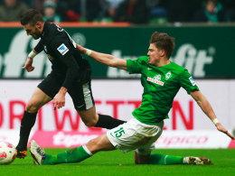 Prödl hatte gegen Freiburg öfter das Nachsehen.