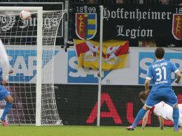 Harniks Flugkopfball zur VfB-Führung