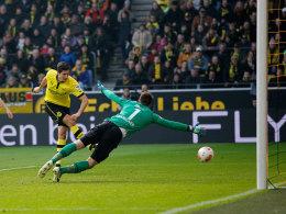 Lewandowski schießt zum 2:0 ein