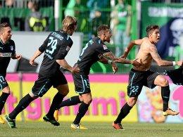 Roberto Firmino nach seinem Tor zum 1:0