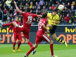 Lewandowski köpft den Ausgleich