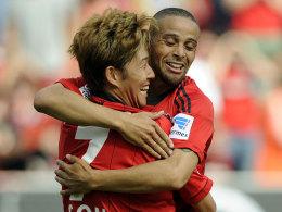 Heung Min Son und Sidney Sam