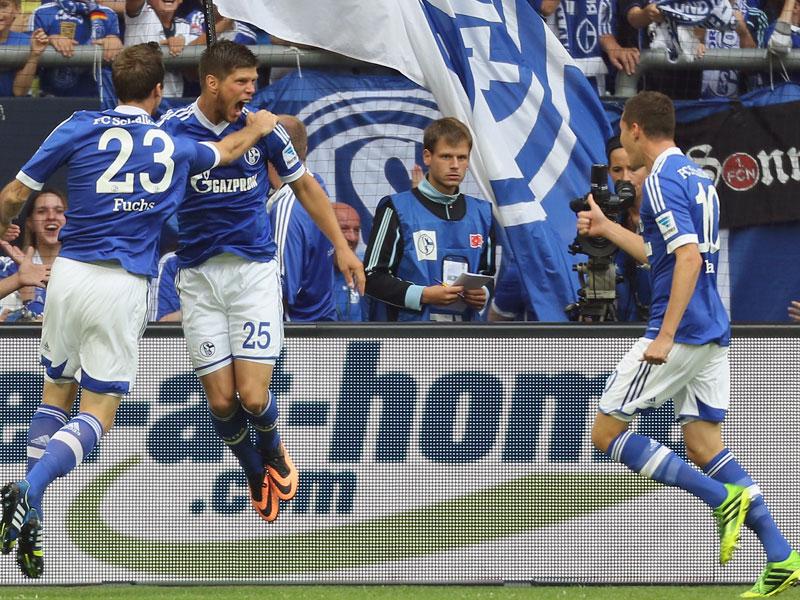 Fuchs, Huntelaar und Draxler