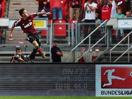 Josip Drmic bejubelt das 1:0