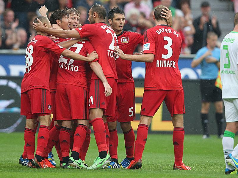 Leverkusen bejubelt den Neun-Punkte-Start.