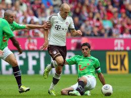 Robben vs. Andreasen und 96-Kapitän Stindl