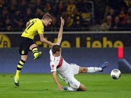 Marco Reus trifft zum 2:1