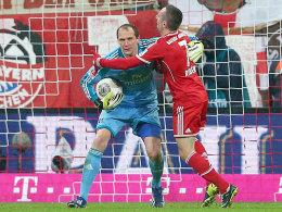 Jaroslav Drobny, Franck Ribery (re.)