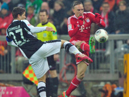 Schwegler vs. Ribery