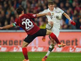 Stindl vs. Schweinsteiger