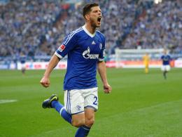 Hatte nach drei Treffern allen Grund zum Jubeln: Klaas-Jan Huntelaar.