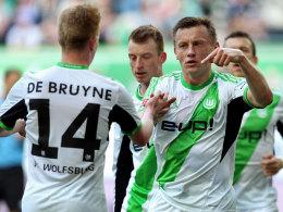 Olic und de Bruyne