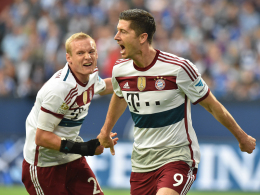 Sebastian Rode & Robert Lewandowski