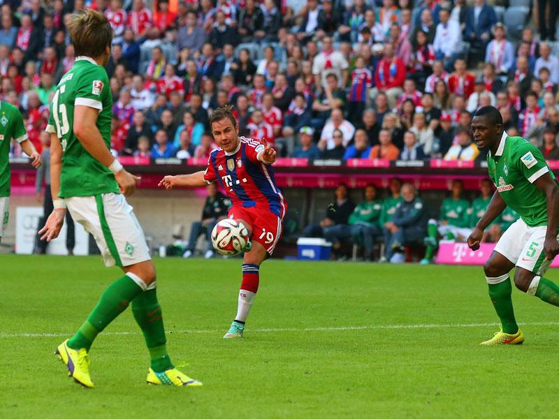 Bayern München Werder Bremen 60 Bundesliga Saison 201415 8