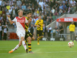 Vogt trifft zum 1:0.