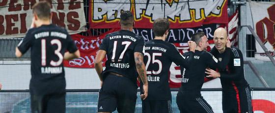 Arjen Robben (rechts)