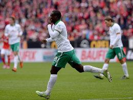 Werders Angreifer Anthony Ujah.