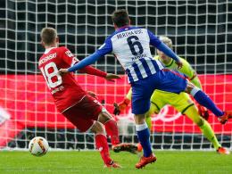 Darida erzielt das 1:0 der Hertha