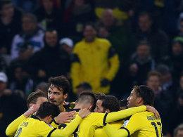 Auf Kurs: Borussia Dortmund startete stark ins neue Jahr 2016.