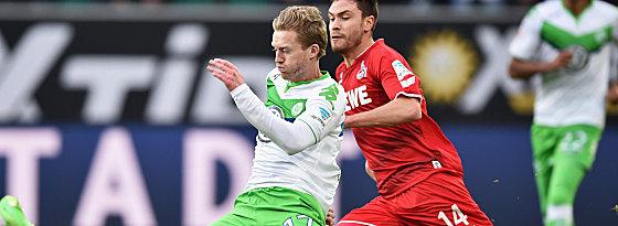 Nationalspieler unter sich: Wolfsburgs André Schürrle und Jonas Hector (re.).