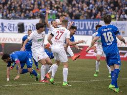 Darmstadt gegen Augsburg