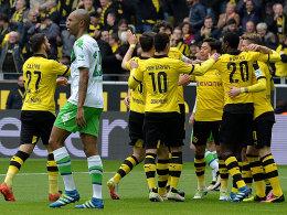 BVB-Kantersieg gegen desatr�ses Wolfsburg