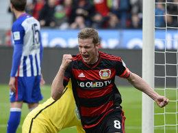 Dank Dauerbrenner Brandt: Bayer bucht die Champions League