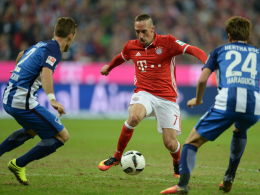 Ribery tanzt - Robben trifft beim Comeback