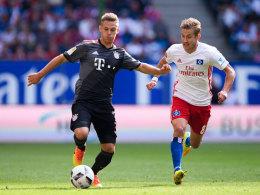 Kimmich schießt Bayern spät zum Sieg