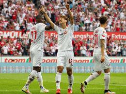 Osako kontert Burke: Köln und RB weiter ungeschlagen