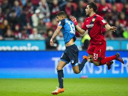 Ausgerechnet Volland leitet Leverkusens Pannenpartie ein