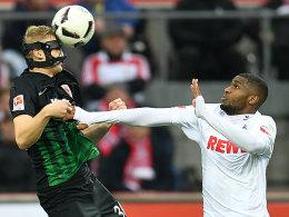 Köln kann das FCA-Bollwerk nicht knacken