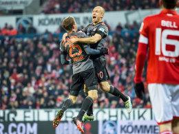 Rekord! Lewandowski trifft wieder doppelt in Mainz