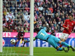 Auch Müller trifft gegen zahnlose