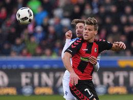 Nach Diskussionen: Petersen schießt SC zum Sieg