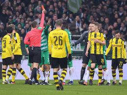 Trotz Schürrles Blitzstart: BVB müht sich in Bremen