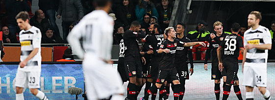 Bayer 04 Leverkusen vs. Gladbach