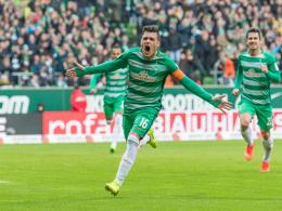 Junuzovics Kunstschuss lässt Werder jubeln