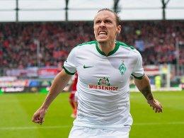Vier Tore! Kruse lässt Werder von Europa träumen