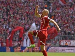 Robben hält Bayerns Serie am Leben