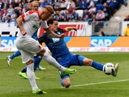 0:0 rettet Augsburg - Hoffenheim bleibt Vierter