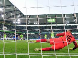 Gomez verschafft Wolfsburg eine gute Ausgangsposition