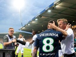 Traumtor! Vieirinha hält VfL in der Bundesliga