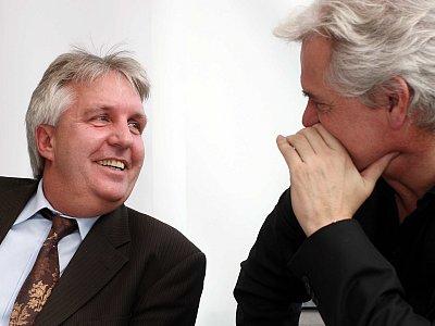 Wolfgang Loos und Uwe Rapolder