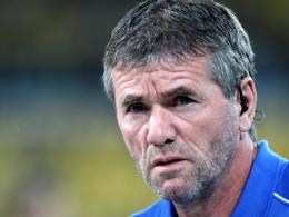 Beurlaubt: Friedhelm Funkel ist nicht mehr länger Trainer des VfL Bochum.