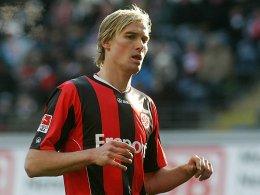 Eintracht-Neuzugang Martin Amedick: Nach nur einem Spiel schon verletzt.