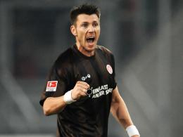 Effizient und wertvoll wie nie: St. Paulis Abräumer im defensiven Mittelfeld, Fabian Boll.