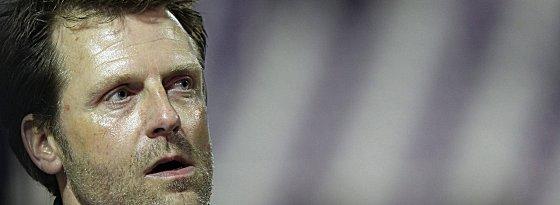 Aus in Aue: Rico Schmitt ist nicht mehr Trainer beim FCE.