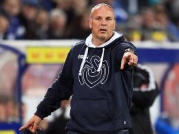 Willkommen im Abstiegskampf: Trainer Oliver Reck wartet mit dem MSV Duisburg noch auf den ersten Punkt im Jahr 2012.