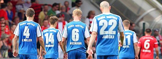Abgang aus der Alten Försterei, Abgang aus der Zweiten Liga - der FC Hansa steigt ab.
